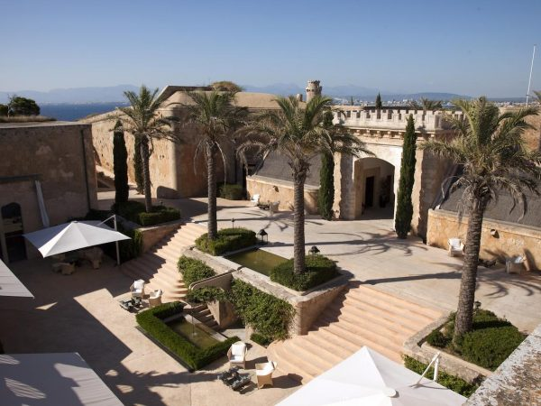 Cap Rocat Hotel View