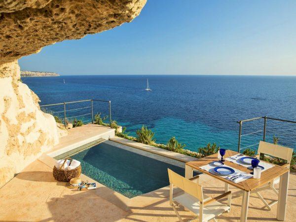 Cap Rocat Mallorca Sentinel Suite Pool