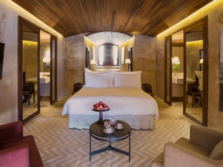 Cap Rocat Mallorca Sentinel suite bedroom