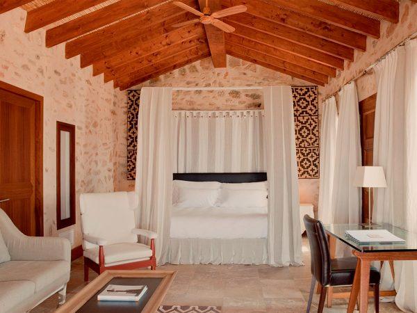 Cap Rocat Mallorca Suite Del Mar bedroom