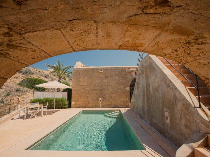 Cap Rocat Suite El Cabo Pool