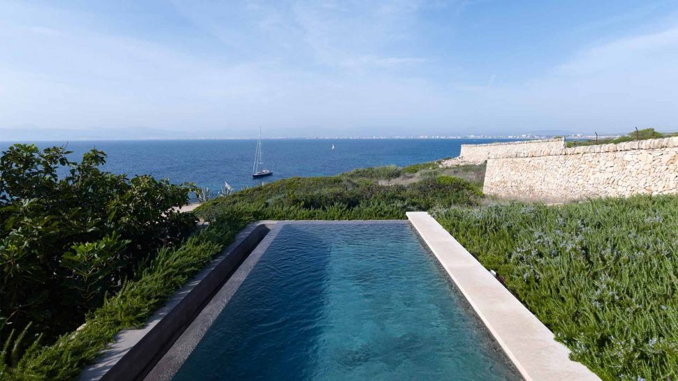 Cap Rocat pool