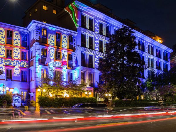 Carlton Hotel Baglioni Milan Hotel Night View