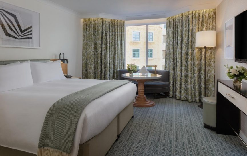 Conrad Dublin King Premier Room With View