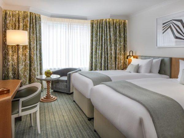Conrad Dublin Superior Twin Room With Two Beds