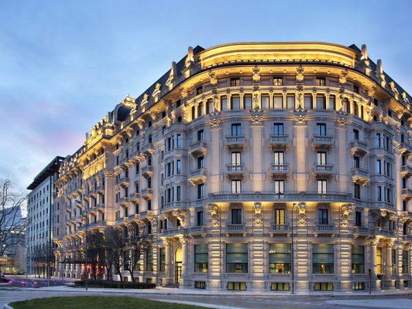 Excelsior Hotel Gallia, Milan Exterior View