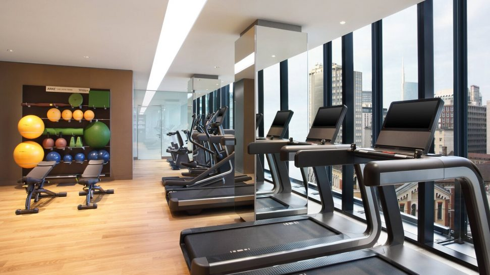Excelsior Hotel Gallia, Milan Gym