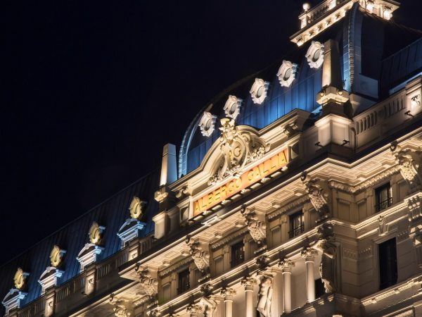 Excelsior Hotel Gallia, Milan Hotel Night View