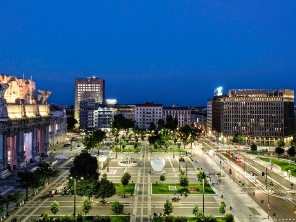 Excelsior Hotel Gallia, Milan Night View