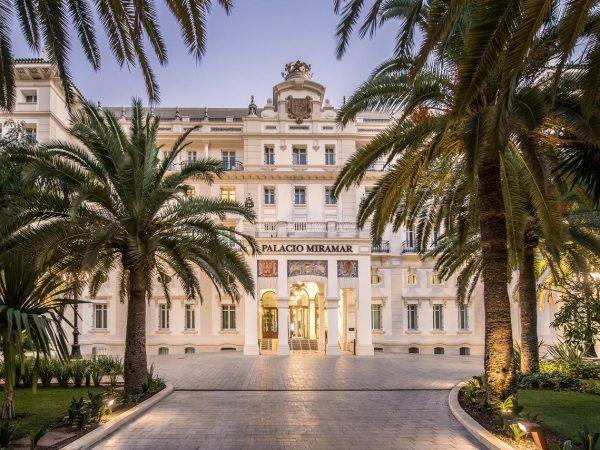 Gran Hotel Miramar Malaga Exterior