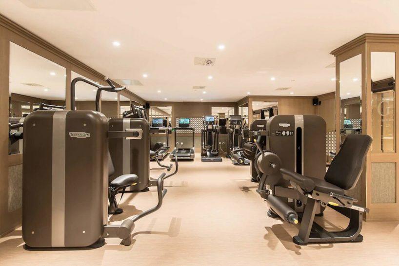 Gran Hotel Miramar Malaga Gym