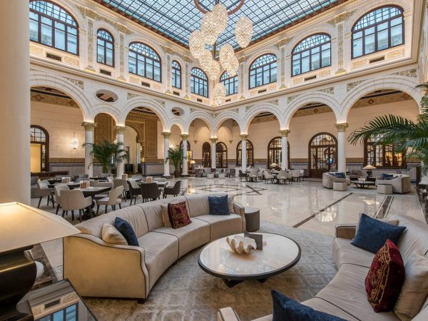 Gran Hotel Miramar Malaga Lobby