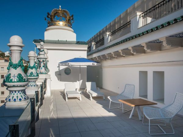 Gran Hotel Miramar Malaga Lobby View