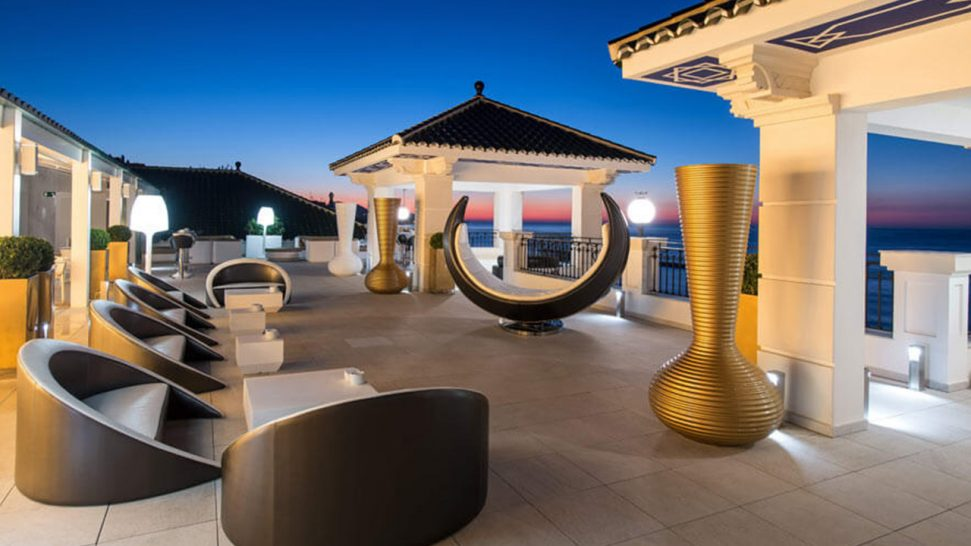 Gran Hotel Miramar M?laga Media Luna Chill Out