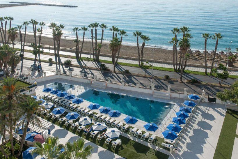 Gran Hotel Miramar Malaga Outdoor Pool