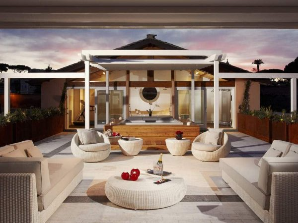 Gran Meli? Rome Emperor Penthouse Master Suite Terrace Redlevel