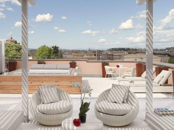 Gran Meli? Rome Grand Suite With 360? Rome View Redlevel