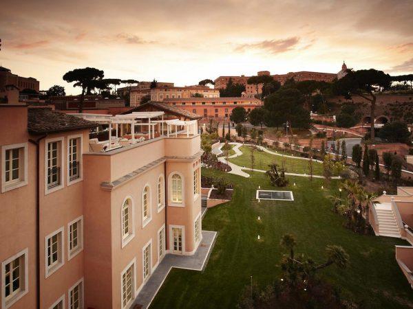 Gran Meli? Rome Hotel View