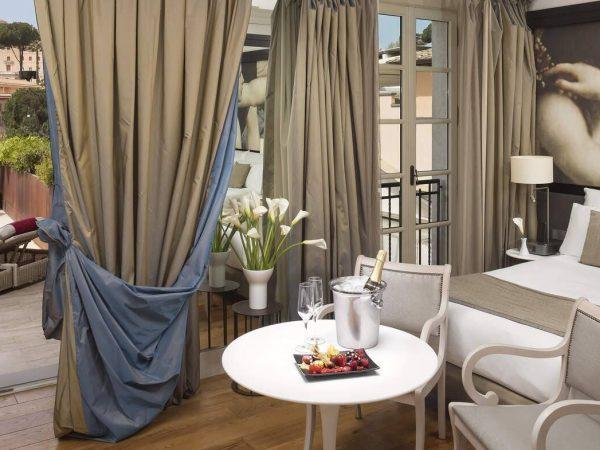 Gran Meli? Rome Supreme Room With Whirlpool Bath Private Terrace Redlevel