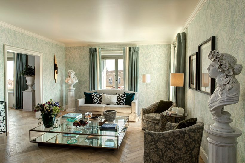 Hotel Savoy Florence Grand View Suite