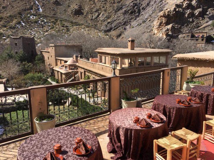 Kasbah Du Toubkal Terrace