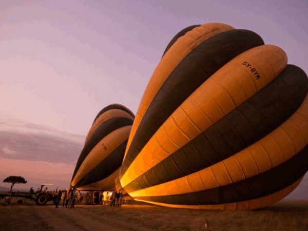 Roving Bushtops Camp Balloon Safari