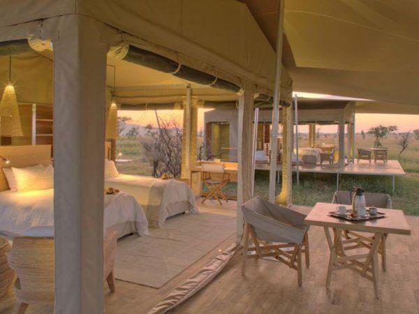 Roving Bushtops Camp Lobby View