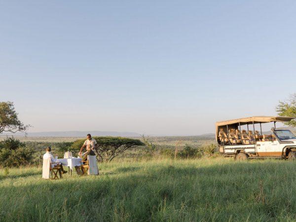 Roving Bushtops Camp Private Bush Breakfast
