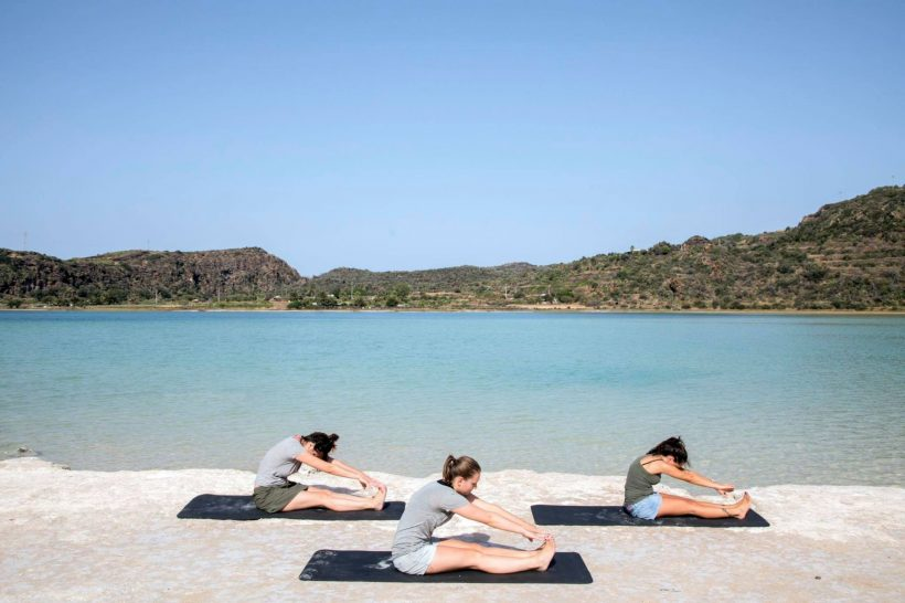 Sikelia Luxury Hotel Yoga on the lake
