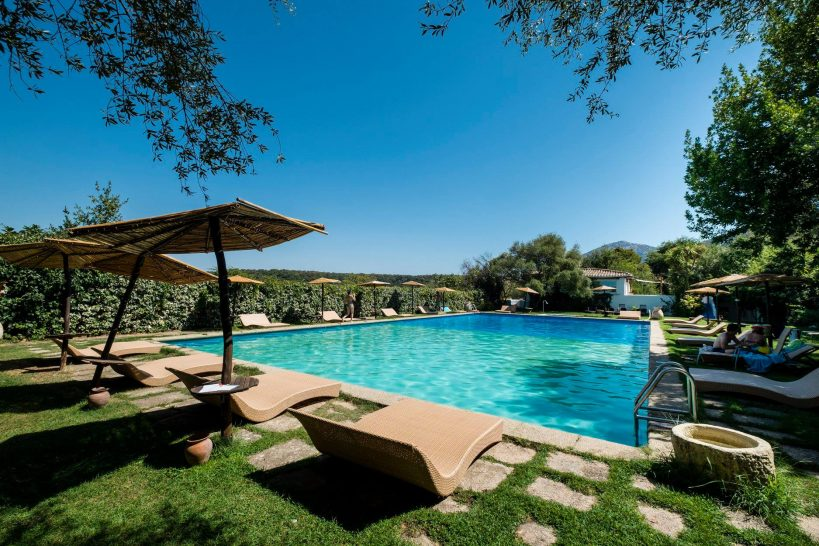 Su Gologone Experience Hotel Swimming Pool