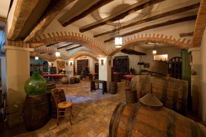 Su Gologone Experience Hotel Wine Cellar