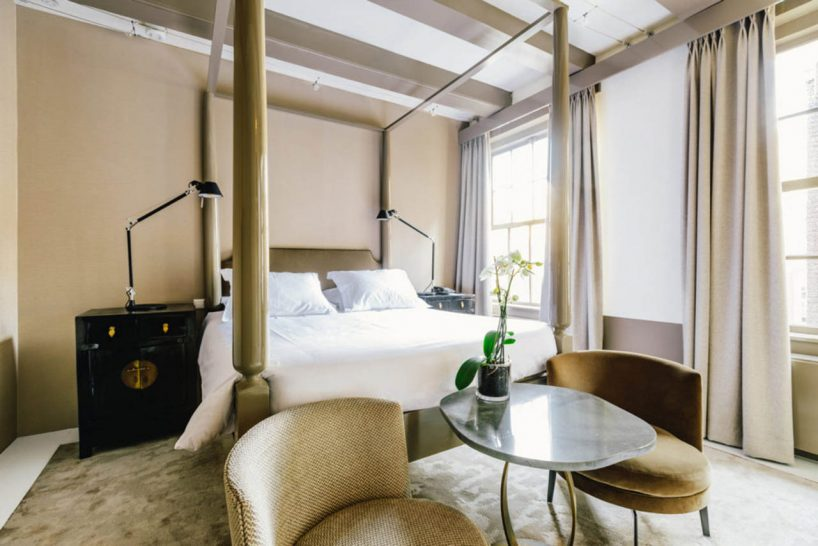 The Dylan Amsterdam Amber Double Room