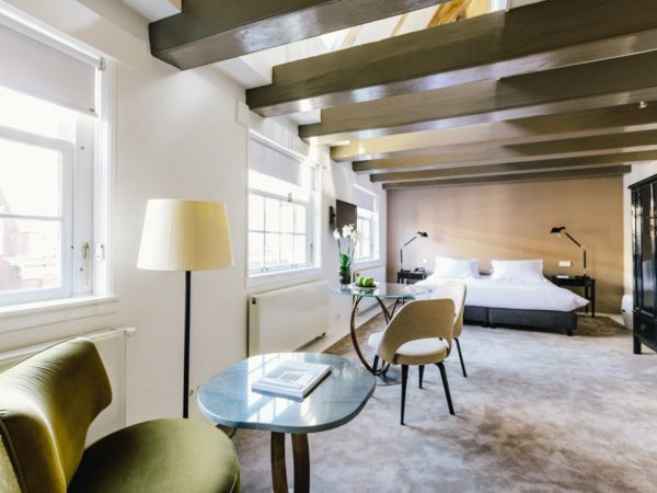 The Dylan Amsterdam Amber Duplex Rooms