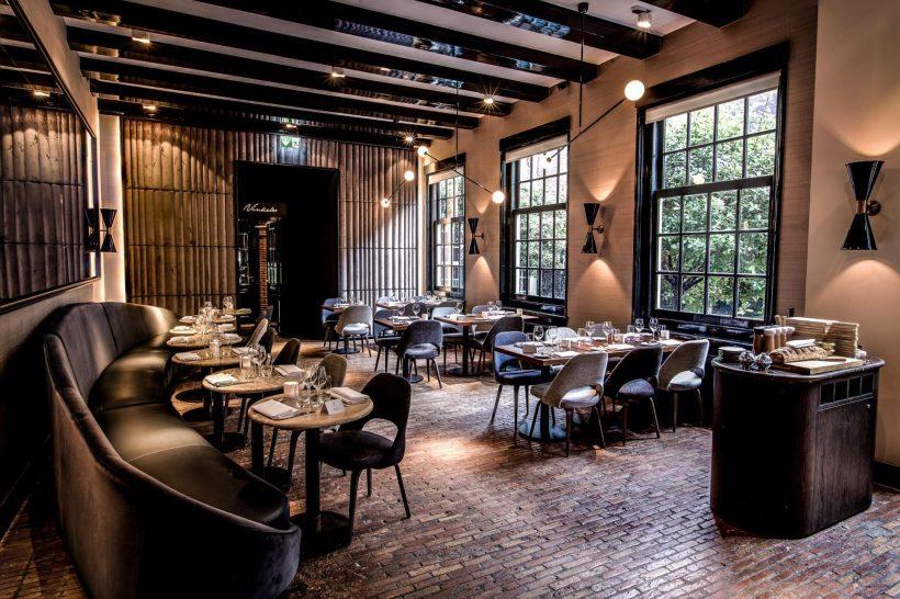 The Dylan Amsterdam courtyard Bar Brasserie Occo