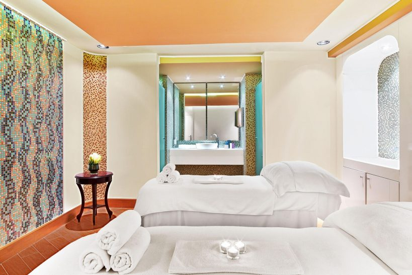 The St. Regis Moscow Nikolskaya Iridium Spa Treatment Room