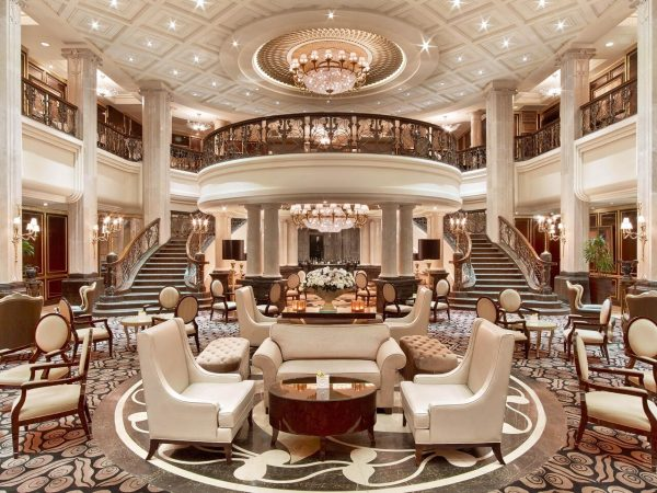 The St. Regis Moscow Nikolskaya Orlov Lobby Bar and Lounge