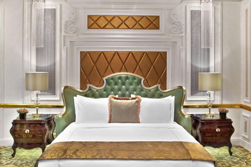 The St. Regis Moscow Nikolskaya Presidential Suite Bedroom