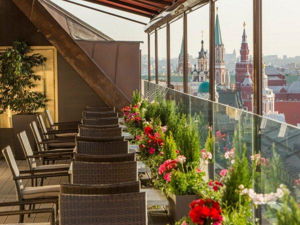 The St. Regis Moscow Nikolskaya Rooftop
