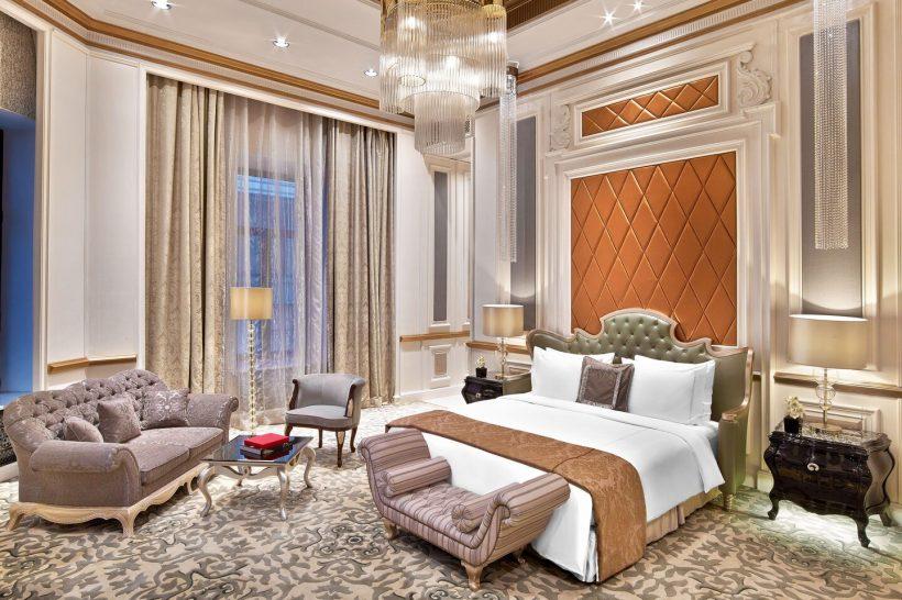 The St. Regis Moscow Nikolskaya Royal Suite Bedroom