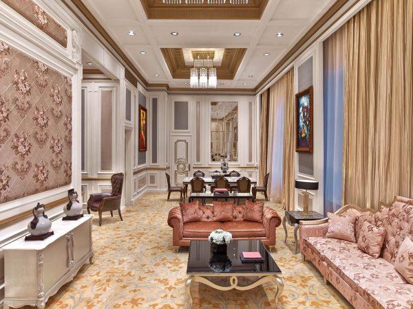 The St. Regis Moscow Nikolskaya Royal Suite Living Room