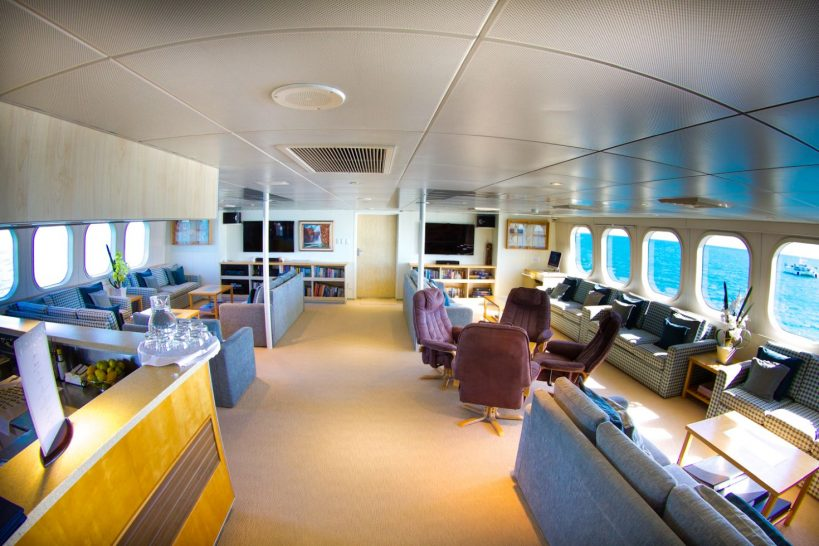 True North Adventure Cruises Bar Lounge