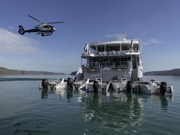 True North Adventure Cruises Helicopter and adventure boats