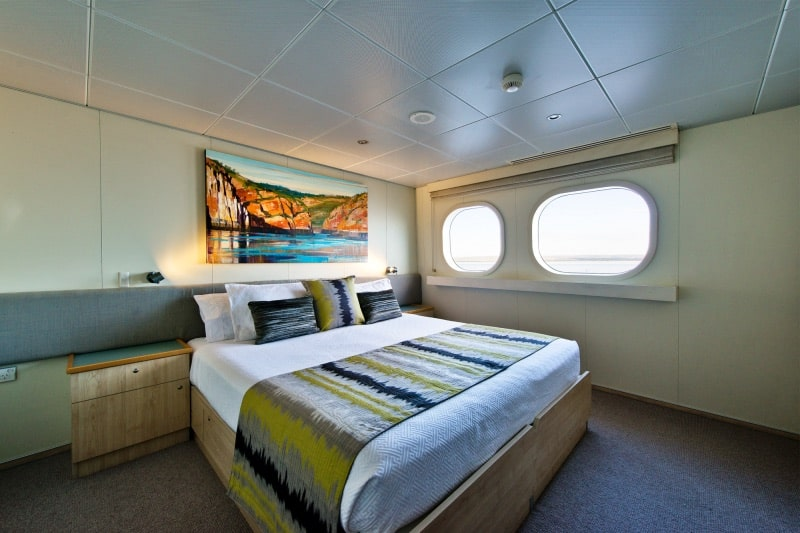 True North Adventure Cruises River Class Double Cabin