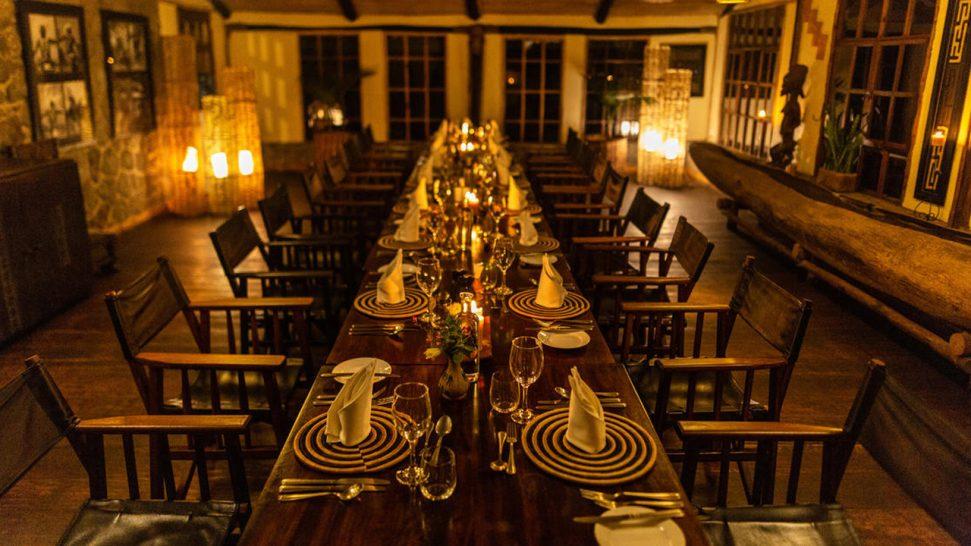 Virunga Lodge Bar
