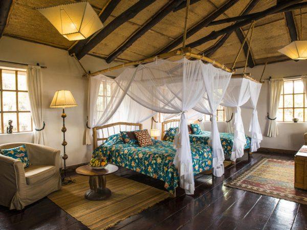 Virunga Lodge Guest Bandas