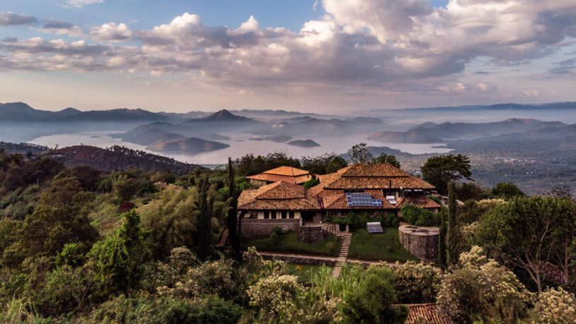 Virunga Lodge Lobby View