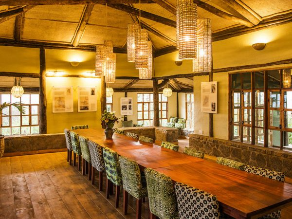 Virunga Lodge Restaurant