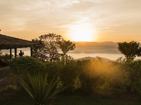 Virunga Lodge Sunset View