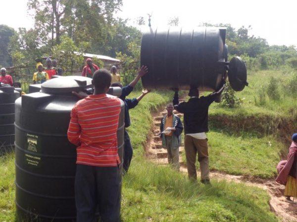Virunga Lodge Virunga Water Tank Project