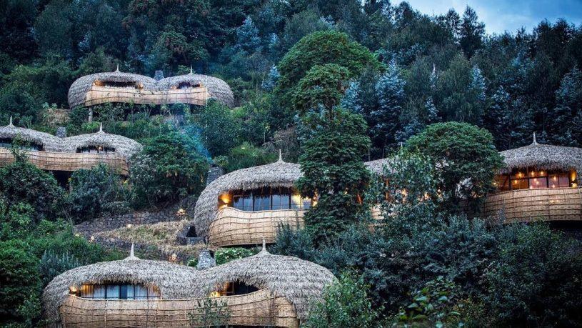 Wilderness Safari's Bisate Lodge in Rwanda